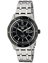 Seiko 5 Sports Analog Black Dial Men's Watch - SRP297K1