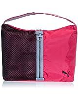 Puma Shoulder Bag (Virtual Pink, Black and Tradewinds)