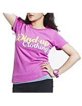 Masculino Latino Casual Pink T-shirts Round Neck for Men MLT1010A-S