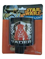 Star Wars Darth Vader Red Mask Curved Night Light