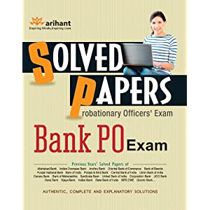 Solved Papers Bank PO Exam