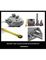 Miniarm 1:35 Bmp 2 Correction Set Mask Gun Resin & Machined Metal Barrel #B35110