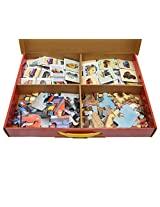 Frank Super Pack Cars 60 Pcs Activity Puzzle Set - Red