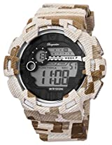 Burgmeister Men's BM803-025 Digital Display Quartz Brown Watch