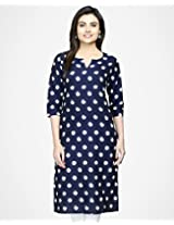 Cotton Ikat Long Kurta-