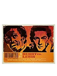 La La Land Posters Chuck Berry & Jerry Lee Lewis at Hootenanny