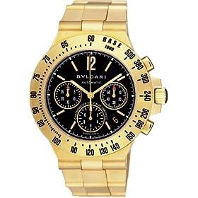 BVLGARI (ブルガリ) 腕時計 CH40GGDTA ディアゴノプロフェッショナル ブラック メンズ