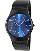 Skagen Classic Analog Blue Dial Men's Watch - T233XLTMN