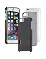 Case-Mate Tough Stand Hard Back Case Cover for Apple iPhone 6 Plus - Black / Grey (CM033612)