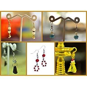 Varishta Jewells Panchmukhi - Set of 5 pairs of earrings