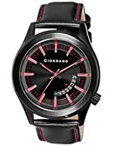 Giordano Analog Black Dial Men's Watch - 1671-05
