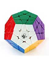 Dayan MegaMinx Stickerless+ Maru Lube 10ml + Cubelelo Cube Pouch COMBO Offer