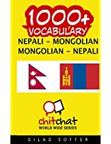 1000+ Nepali - Mongolian, Mongolian - Nepali Vocabulary