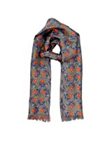 Tiekart Mens Silk Scarf -Multi-Colored -Free Size