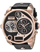 Diesel luminescent hands Analog Brown Dial Men's Watch - DZ7261