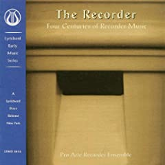 Recorder: Four Centuries of Recorder Music