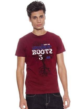 Guru Camiseta Árbol (Granate)