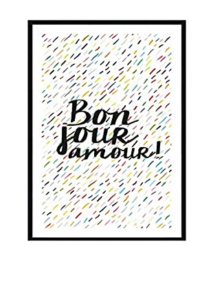 Really Nice Things Wandbild Bonjour