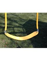 Yellow Belt Swing W/ Child Grip Coated Chain