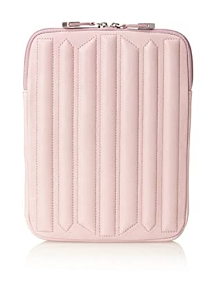 Allibelle Women's Trapunto Striped iPad Case (Thistle)