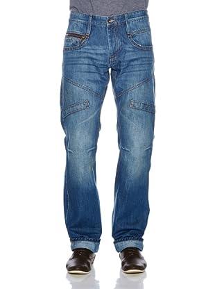 Solid! Pantalón Used (Azul)