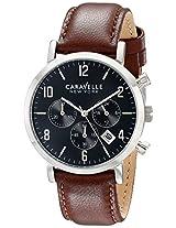 Caravelle by Bulova Dress Analog Black Dial Men's Watch - 43B140