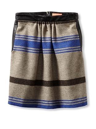 Thomas Sires Women's Haight Full Skirt (Grey/Blue)