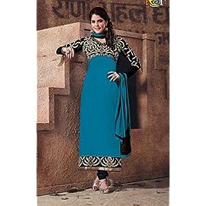 Ezza Blue Designer Salwar Suit