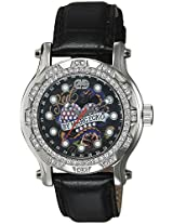 Marc Ecko Analog Black Dial Unisex Watch - E12589M2
