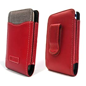 The Slipper LeatherCase for iPhone/Red DasBlau