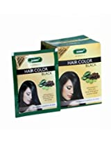 HERBAL HAIR COLOR (BLACK) - Pack of 12