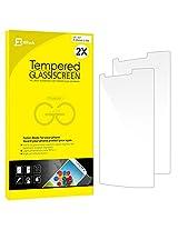LG G3 Screen Protector, JETech 2-Pack Premium Tempered Glass Screen Protector Film for LG G3 LGG3 T-moible Sprint ATT Verizon