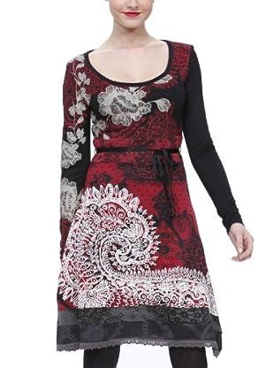 Desigual Vestido 28V2894 (Rojo)