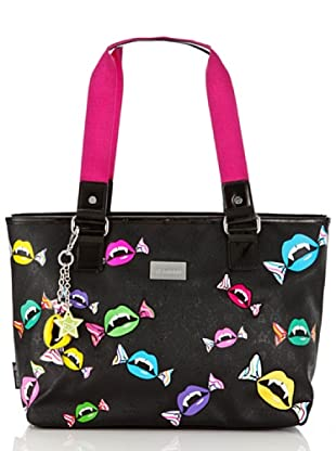 Tokidoki Shopping Bag Pico Fluo (Schwarz)