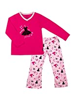 Girls 2-Piece Pyjama Set | Raspberry, 10Y