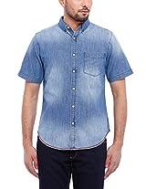 Blue Saint Men's Casual Shirt