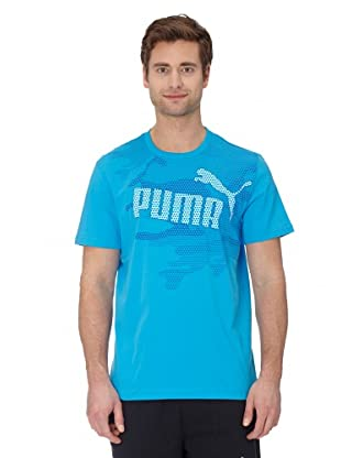 Puma T-Shirt Old Non (dresden blue)