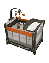 Graco Pack 'n Play Element Playard with Stages - Tangerine (Tangerine)