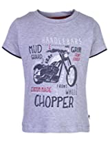 Ollypop T-Shirt Half Sleeves - Bike Print