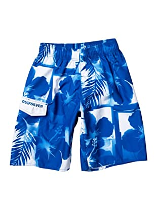 Quiksilver Shorts Jam Chewlips 21 (Azul Royal)