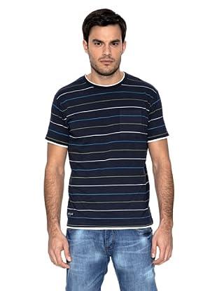 Springfield Camiseta Raya Marino (Azul Marino)