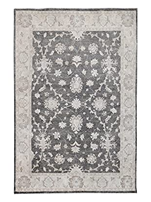 Kalaty One-of-a-Kind Pak Rug, Charcoal, 6' x 9'