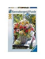 Ravensburger Beautiful Flowers Puzzle (500 Pieces), Multi Color