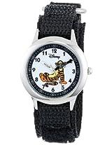 Disney Kids' W000101 Tigger Stainless Steel Time Teacher Watch