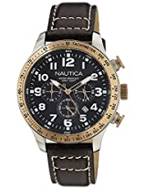 Nautica Chronograph Black Dial Men's Watch - NTA16593G