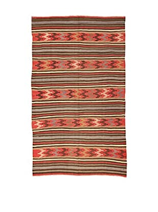 Design Community By Loomier Teppich Kilim Caucasico koralle/mehrfarbig 151 x 258 cm