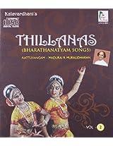 Thillanas Vol-2 (Bharathanatyam Songs)