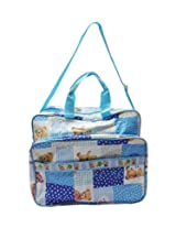 Teddy Print Nursery Bag