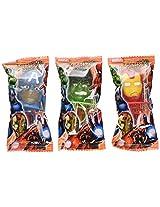 Marvel Decorated Lollipops Rings Fruit Flavored 20 Rings Net Wt 8.46 Oz