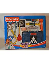 "2000 Fisher Price Be A Doctor Today ""Blue""Kit"